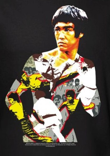 Image for Bruce Lee T-Shirt - Body of Action
