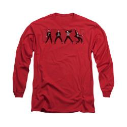 Image for Elvis Long Sleeve T-Shirt - Jailhouse Rock