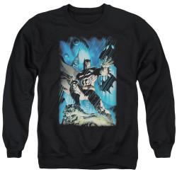 Image for Batman Crewneck - Stormy Dark Knight