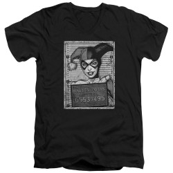 Image for Batman T-Shirt - V Neck - Harley Inmate