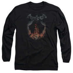 Image for Batman Long Sleeve T-Shirt - Smoke & Fire