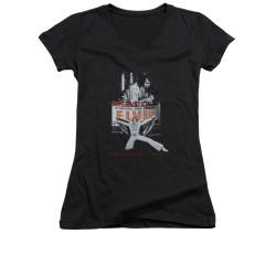 Image for Elvis Girls V Neck T-Shirt - Las Vegas