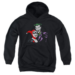 Image for Batman Youth Hoodie - Joker & Harley