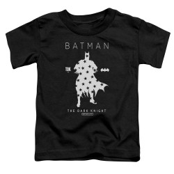 Image for Batman Toddler T-Shirt - Star Silhouette