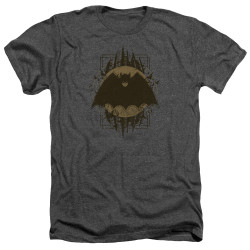 Image for Batman Heather T-Shirt - Batman Crest