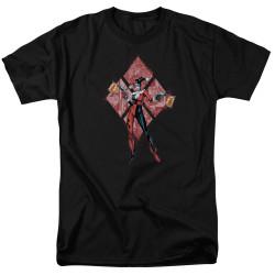 Image for Batman T-Shirt - Harley Quinn (Diamonds)