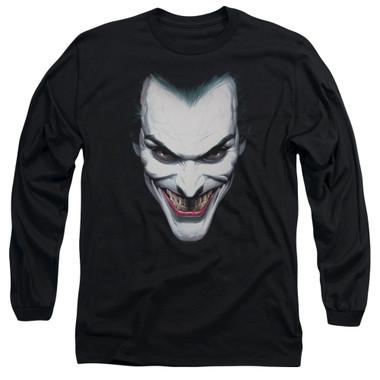 Image for Batman Long Sleeve T-Shirt - Joker Portrait