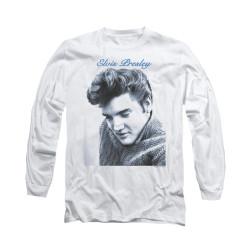 Image for Elvis Long Sleeve T-Shirt - Script Sweater
