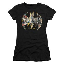 Image for Batman Girls T-Shirt - 80th Shield