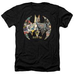 Image for Batman Heather T-Shirt - 80th Shield