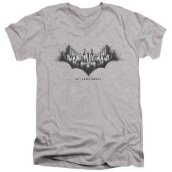 Image for Batman T-Shirt - V Neck - Gotham Shield