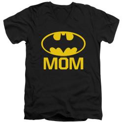 Image for Batman T-Shirt - V Neck - Bat Mom