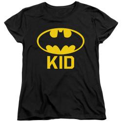 Image for Batman Womans T-Shirt - Bat Kid