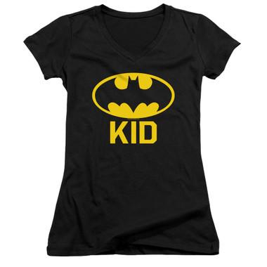 Image for Batman Girls V Neck T-Shirt - Bat Kid