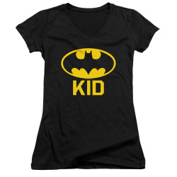Image for Batman Girls V Neck T-Shirt - Bat Kid