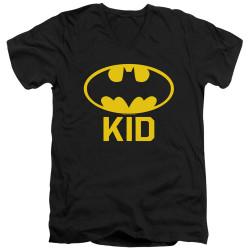 Image for Batman T-Shirt - V Neck - Bat Kid