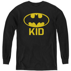 Image for Batman Youth Long Sleeve T-Shirt - Bat Kid