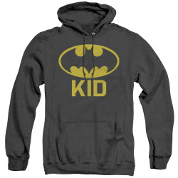Image for Batman Heather Hoodie - Bat Kid