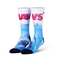 Image for Jaws Poster Socks