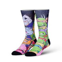Image for Teenage Mutant Ninja Turtle Socks - Good vs Evil