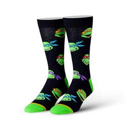 Image for Teenage Mutant Ninja Turtle Retro Heads Socks