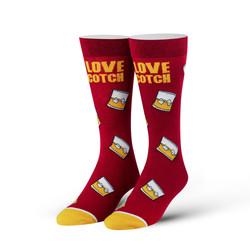 Image for I Love Scotch Socks