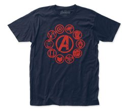 Image for The Avengers Endgame T-Shirt - Icons