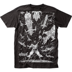 Image for Venom Subway T-Shirt - Spaceships Big Print