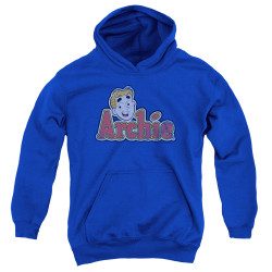 Image for Archie Comics Youth Hoodie - Distressed Archie Logo