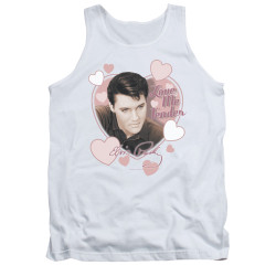 Image for Elvis Tank Top - Love Me Tender