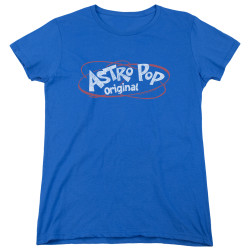 Image for Astro Pop Womans T-Shirt - Vintage Logo