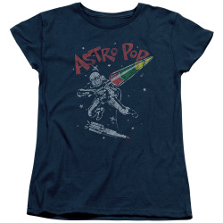 Image for Astro Pop Womans T-Shirt - Space Joust