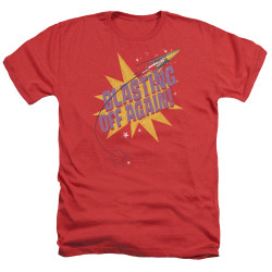 Image for Astro Pop Heather T-Shirt - Blast Off