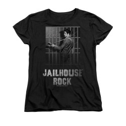 Image for Elvis Woman's T-Shirt - Jail House Rock