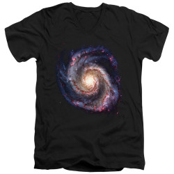 Image for Outer Space V Neck T-Shirt - Galaxy