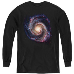 Image for Outer Space Youth Long Sleeve T-Shirt - Galaxy
