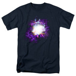 Image for Outer Space T-Shirt - Nebula Navy