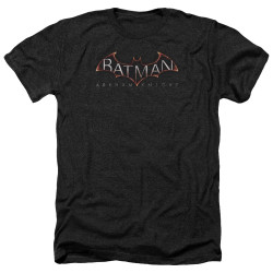 Image for Batman Arkham Knight Heather T-Shirt - Logo