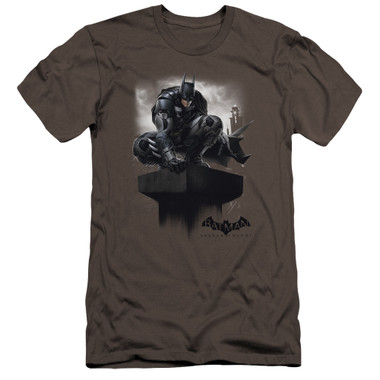 Image for Batman Arkham Knight Premium Canvas Premium Shirt - Perched