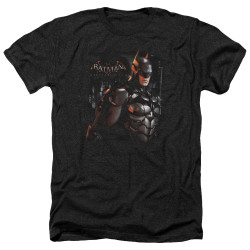 Image for Batman Arkham Knight Heather T-Shirt - Dark Knight