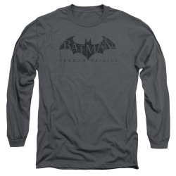 Image for Batman Arkham Origins Long Sleeve T-Shirt - Crackle Logo