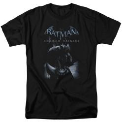 Image for Batman Arkham Origins T-Shirt - Perched Cat