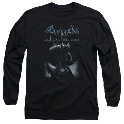 Image for Batman Arkham Origins Long Sleeve T-Shirt - Perched Cat