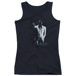 Image for Batman Arkham Origins Girls Tank Top - Black Mask