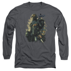 Image for Batman Arkham Origins Long Sleeve T-Shirt - Deathstroke