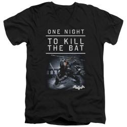 Image for Batman Arkham Origins V-Neck T-Shirt One Night