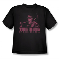 Image for Elvis Youth T-Shirt - Hail to the King