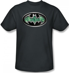 Image for Batman T-Shirt - Circuitry Shield Logo