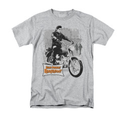 Image for Elvis T-Shirt - Roustabout Poster