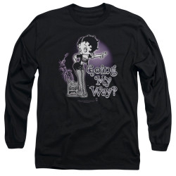 Image for Betty Boop Long Sleeve Shirt - My Way